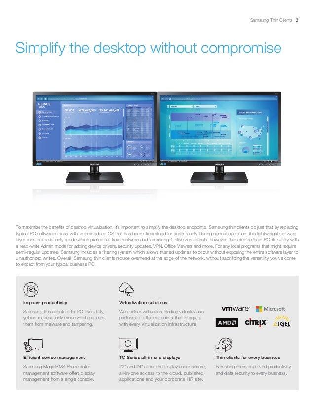 Samsung Thin Client Brochure - Dec-2016