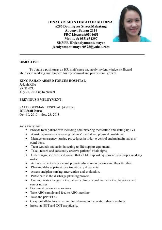 jena new resume