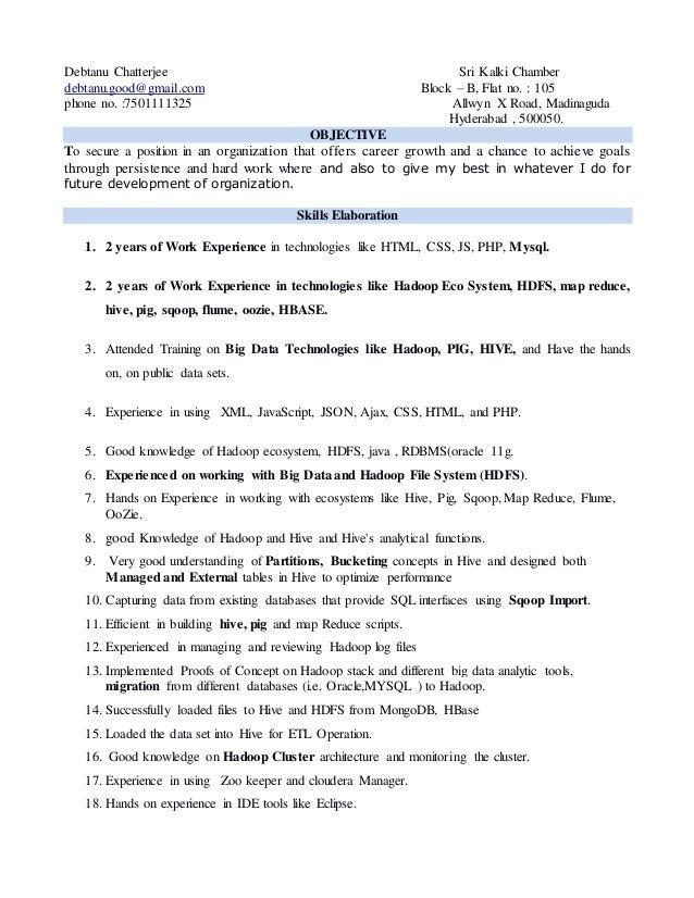 Debtanu Chatterjee Sri Kalki Chamber debtanu.good@gmail.com Block – B, Flat no. : 105 phone no. :7501111325 Allwyn X Road,...