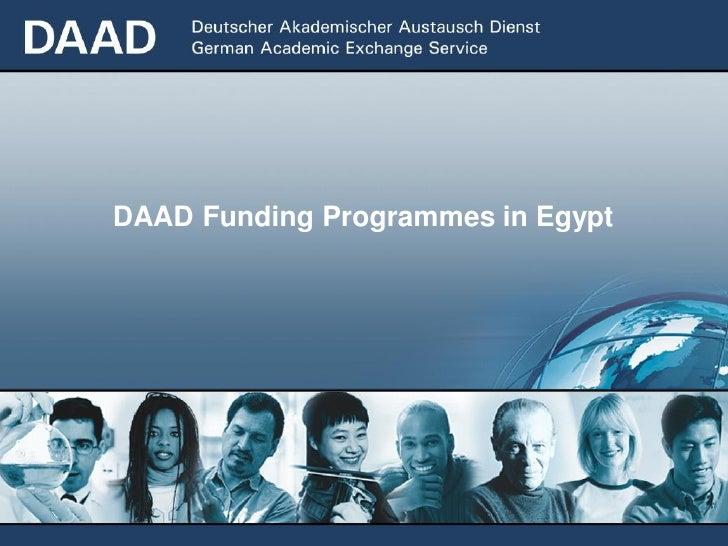 DAAD Funding Programmes in Egypt
