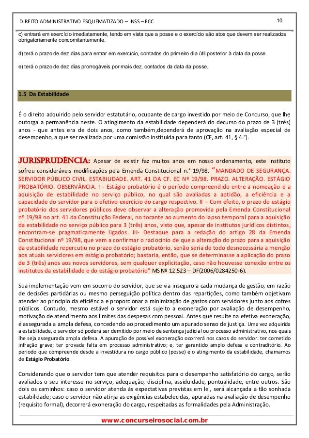 Apostila Direito Administrativo Pdf