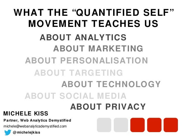 "WHAT THE ""QUANTIFIED SELF"" MOVEMENT TEACHES US ABOUT ANALYTICS ABOUT MARKETING ABOUT PERSONALISATION ABOUT TARGETING ABOUT..."