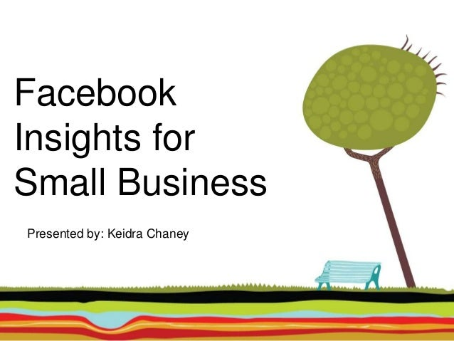 Facebook Insights for Small Business Presented by: Keidra Chaney