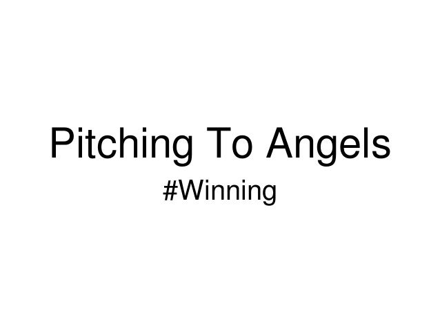 Pitching To Angels      #Winning