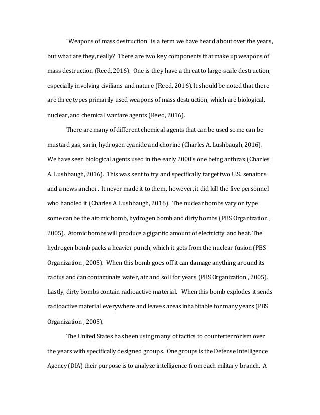 Terrorism Essays  Barcafontanacountryinncom Terrorism Research Paper  Teaching Essay Writing To High School Students also Examples Of A Thesis Statement For An Essay  English Literature Essays