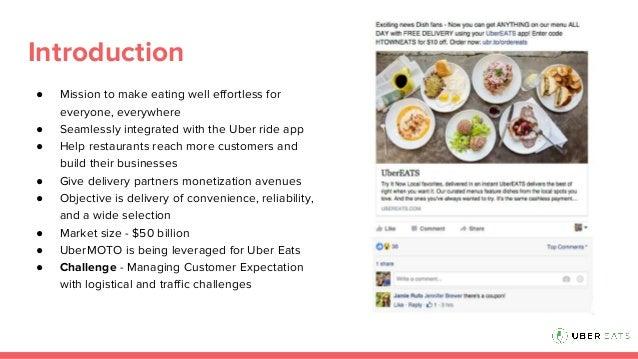 Uber Eats - Digital Metrics Slide 2