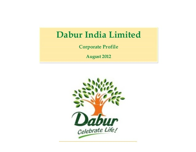 Dabur India Limited     Corporate Profile        August 2012                         1                             1