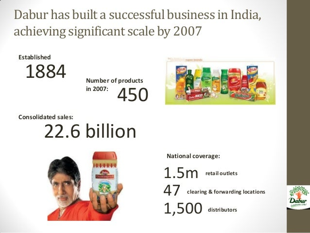 dabur a case This case study focuses on the analytical decisions and strategy that dabur, india's oldest and the largest ayurvedic company uses to be among the top three fmcg business companies in the indian market.