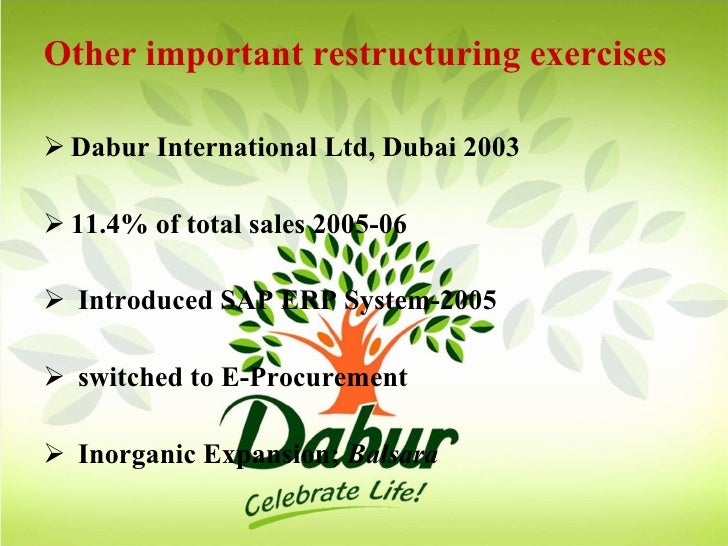 repositioning dabur Dabur chyawanprash is an interesting brand for anyone who is interested in marketing two factors makes it special first factor is that this is a truly indian product and a product which is very close to our heritage and my thology second factor is the effort of market leader in rejuvenating the category.
