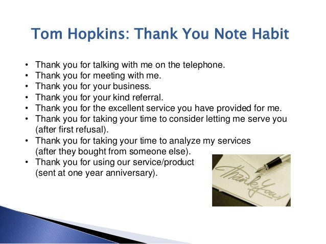 real estate thank you notes