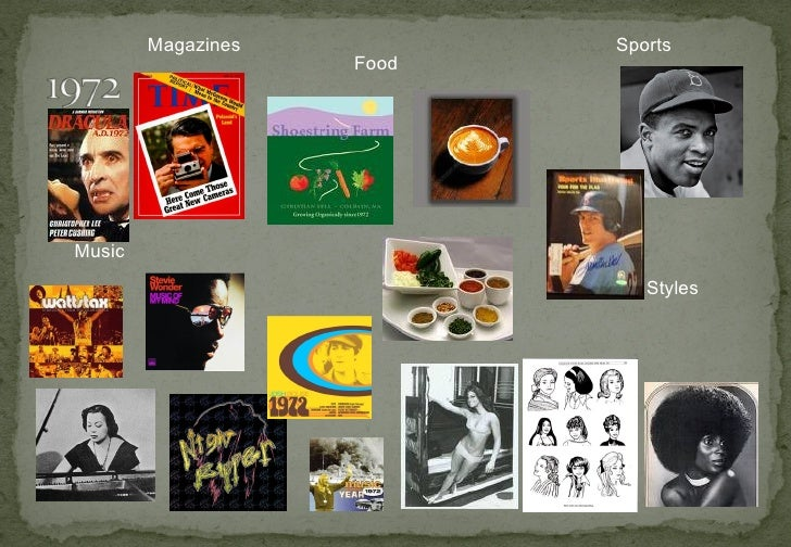 Magazines Music Food Sports Styles