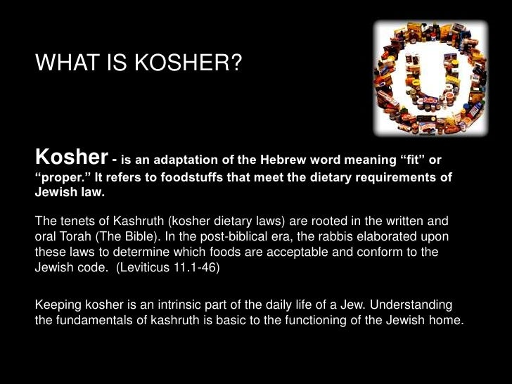 Dacor And The Kosher Kitchen Kosher 101