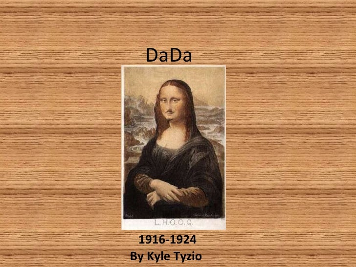 DaDa 1916-1924 By Kyle Tyzio