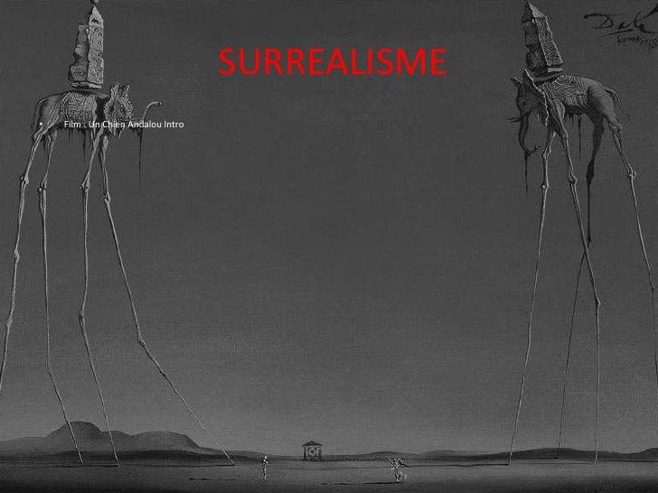 SURREALISME<br />Film : UnChienAndalou Intro<br />