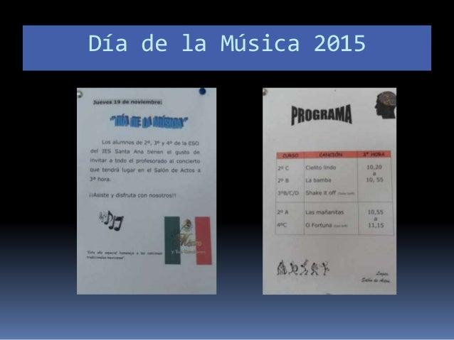 Día de la Música 2015