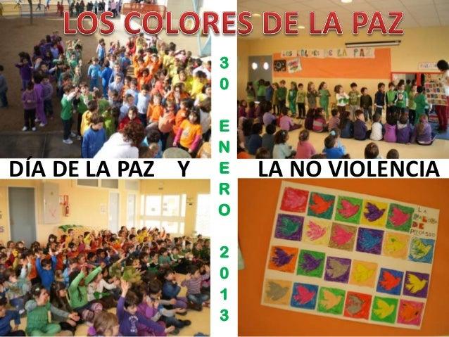 3                  0                  E                  NDÍA DE LA PAZ Y   E   LA NO VIOLENCIA                  R        ...