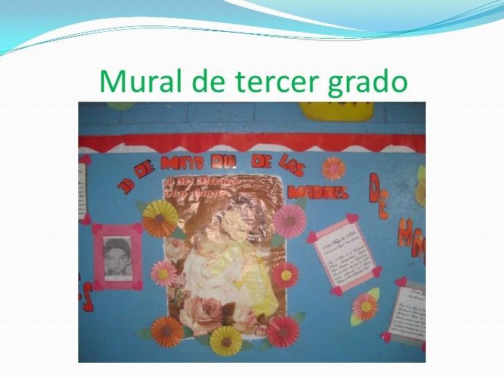 Mural Sobre Dia De La Madre