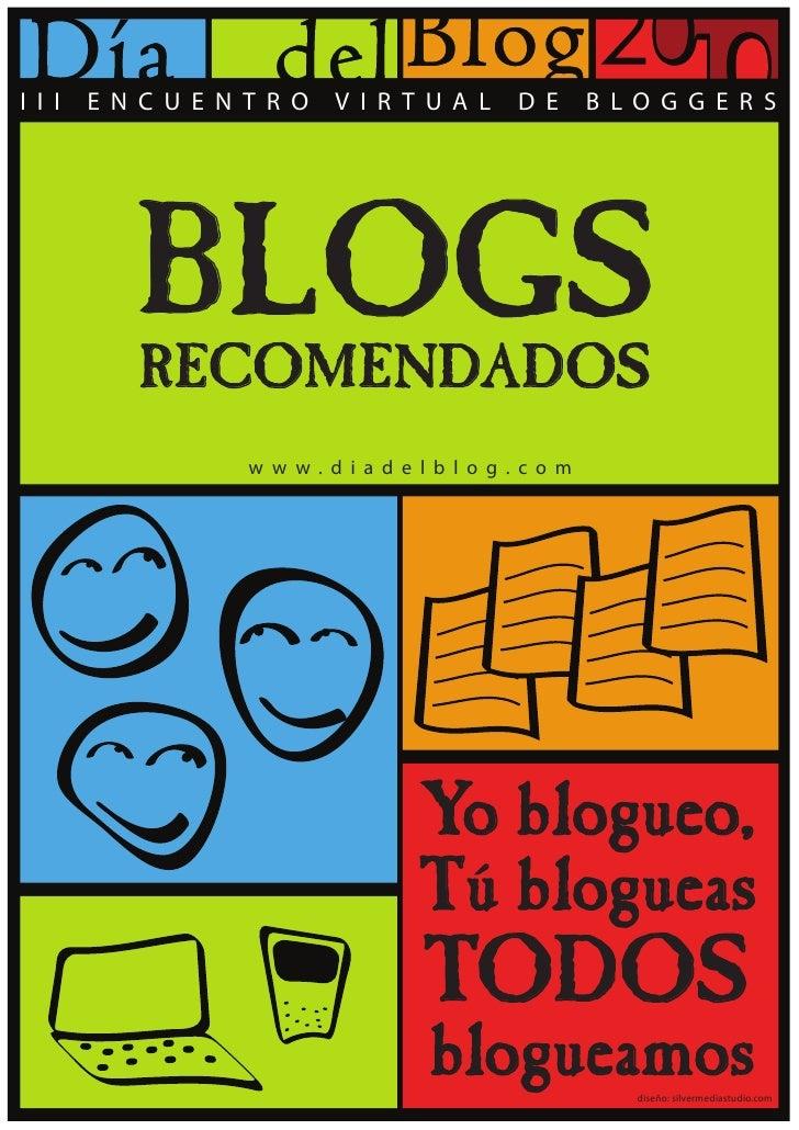 Día del blog 2010   blogs recomendados