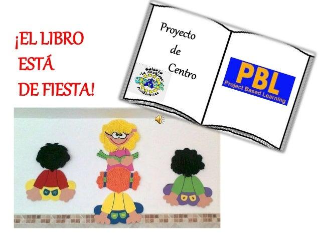 ¡EL LIBRO ESTÁ DE FIESTA!
