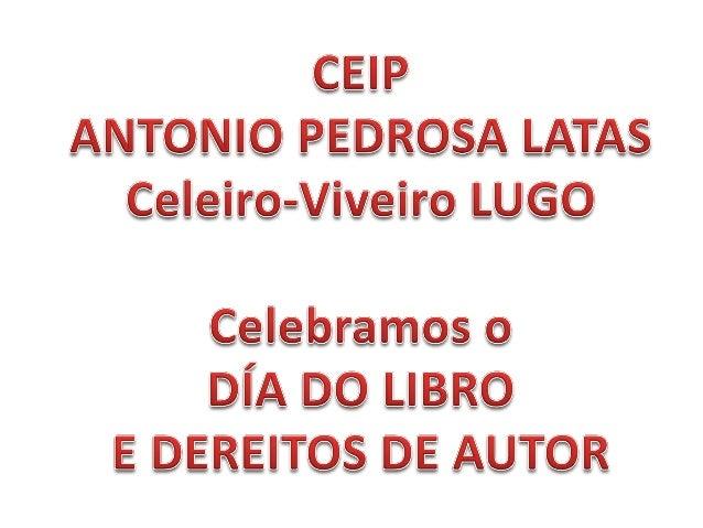 A Orixe do día do libro remóntase a 1926. O 23 de abril de 1616 falecían Cervantes e Shakespeare. Tamén nun 23 de abril na...