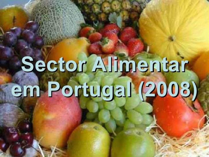 Sector Alimentar em Portugal   (2008)