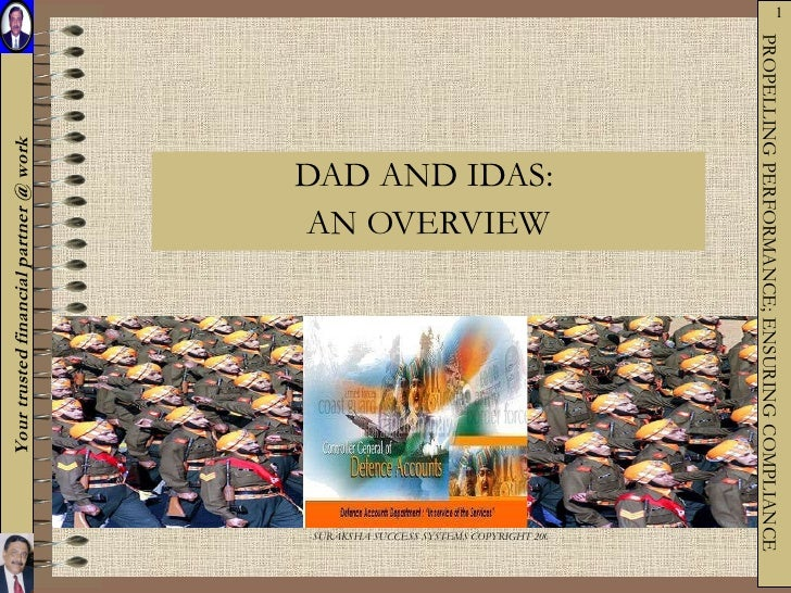 DAD AND IDAS:  AN OVERVIEW