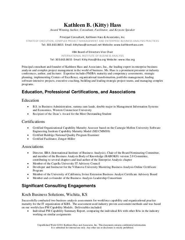 KHass Resume 2015 with CV
