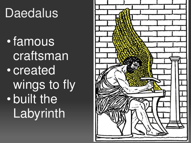 Daedalus and icarus Slide 3