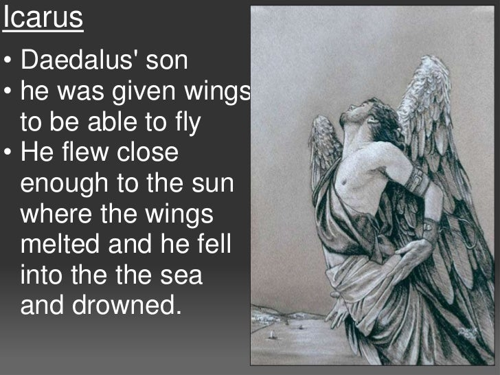 daedalus and icarus point of view
