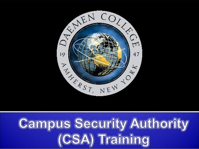 Jeanne Clery Campus Security Policy & Crime Statistics Disclosure Act (Clery Act) The Jeanne Clery Disclosure of Campus Se...
