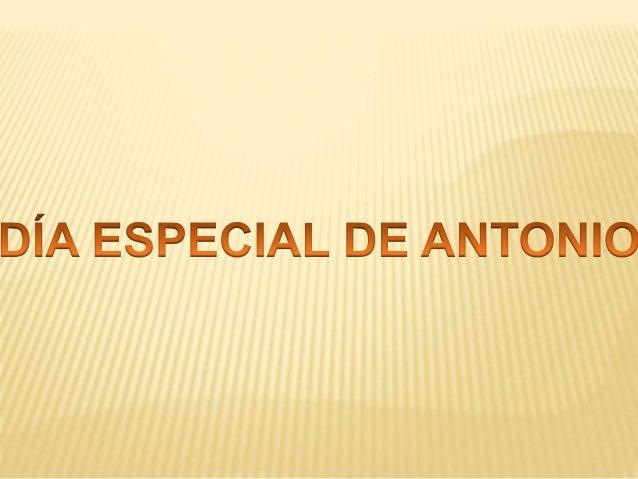 El lunes pasado nos acompañó en clase el padre de Antonio, que también se llama Antonio.