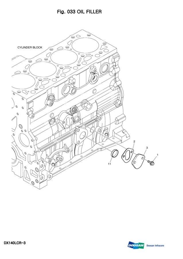 Daewoo doosan dx140 lcr 3 crawler excavator service repair