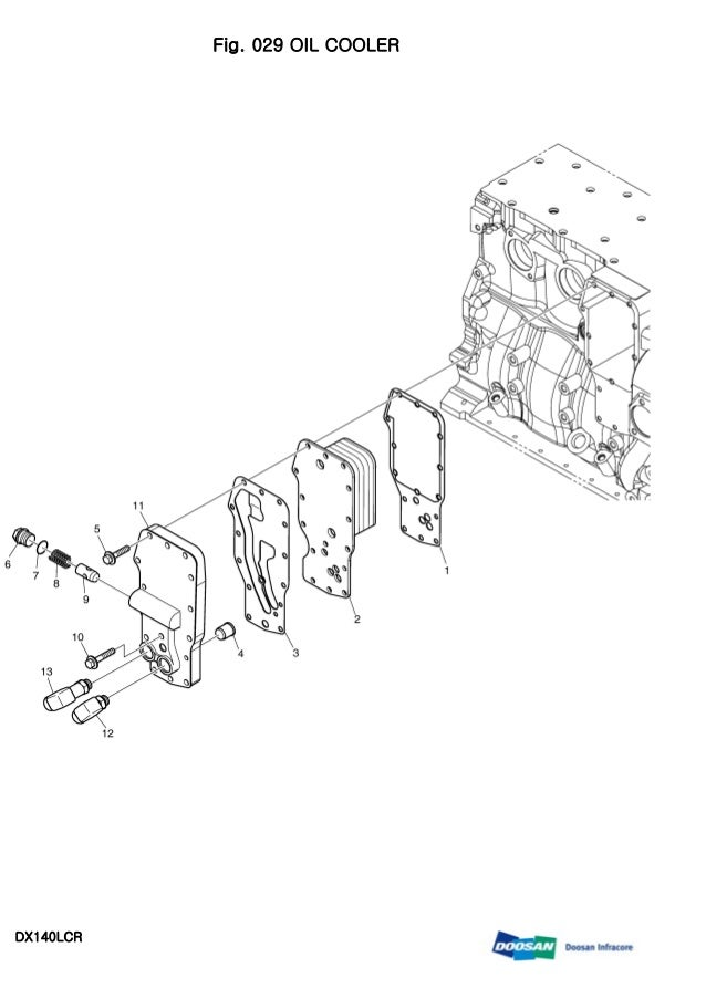 Daewoo doosan dx140 lcr crawler excavator service repair