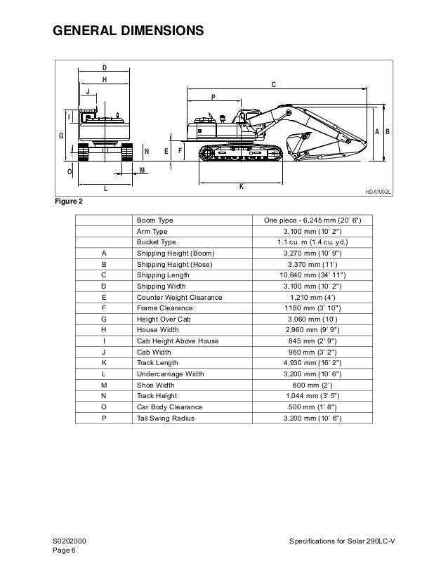 Daewoo doosan solar 290 lc v excavator service repair manual on