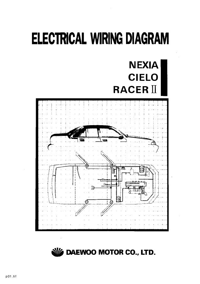 Daewoo Start Wiring Diagram - Wiring Diagram K8 on
