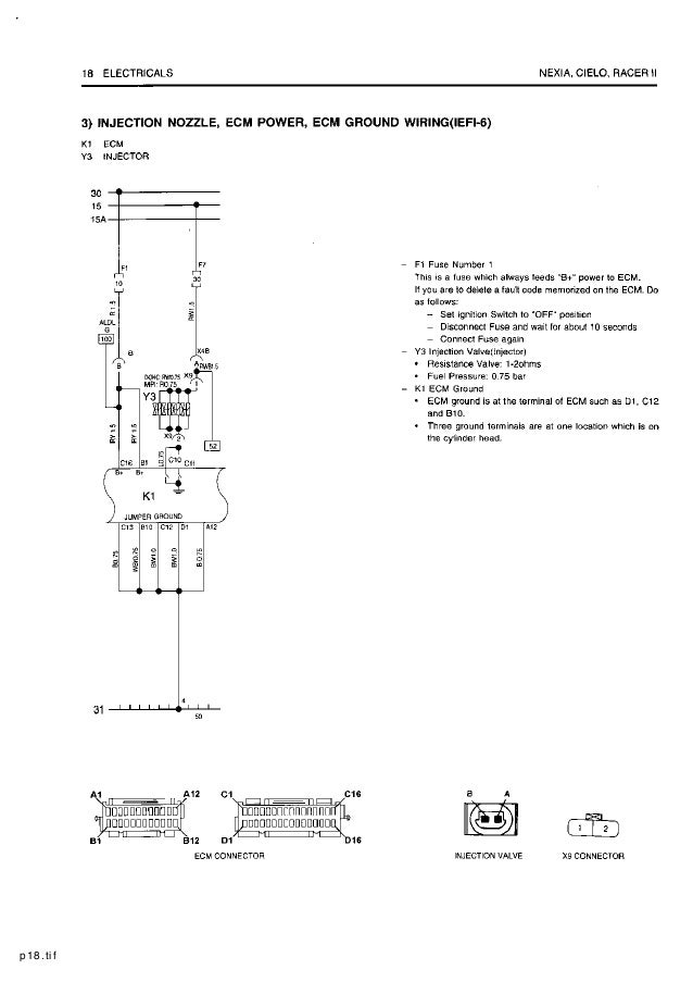 on daewoo power seat wiring diagram