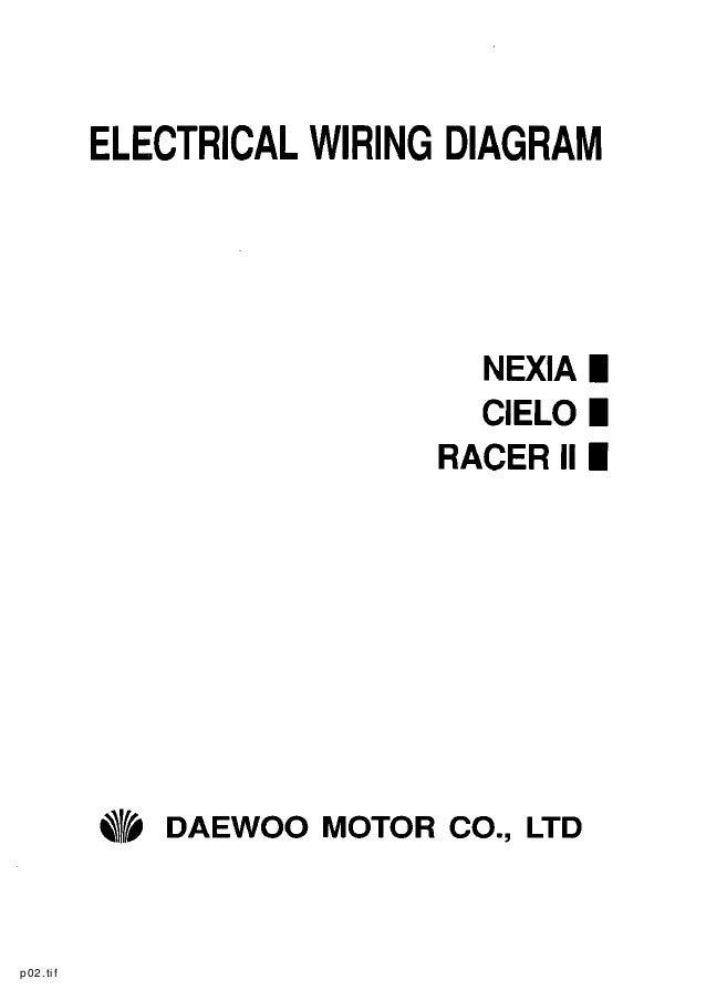 daewoo service electrical manual rh slideshare net