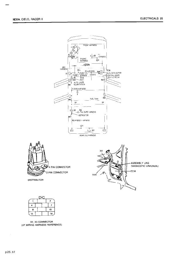 Magnificent Electrical Wiring Diagram Daewoo Racer Wiring Diagram Wiring 101 Capemaxxcnl