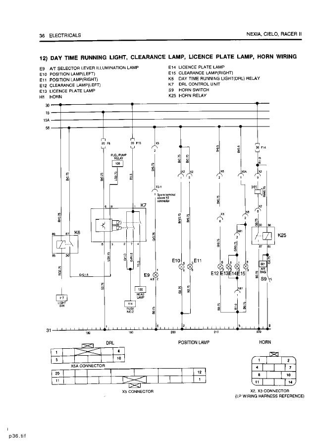 Daewoo+service+electrical+manual Daewoo Relay Wiring Diagram on