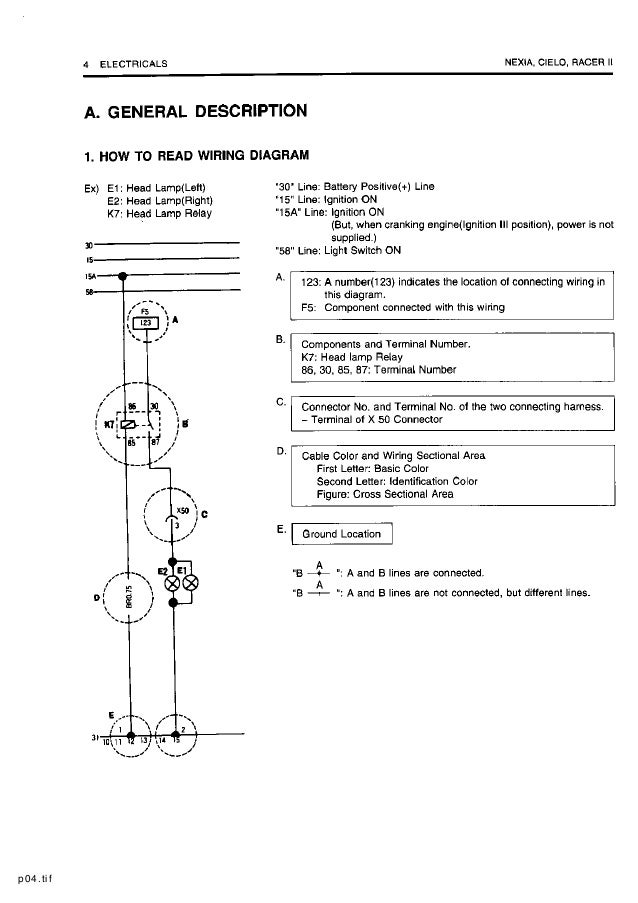 Phenomenal Daewoo Service Electrical Manual Wiring 101 Capemaxxcnl