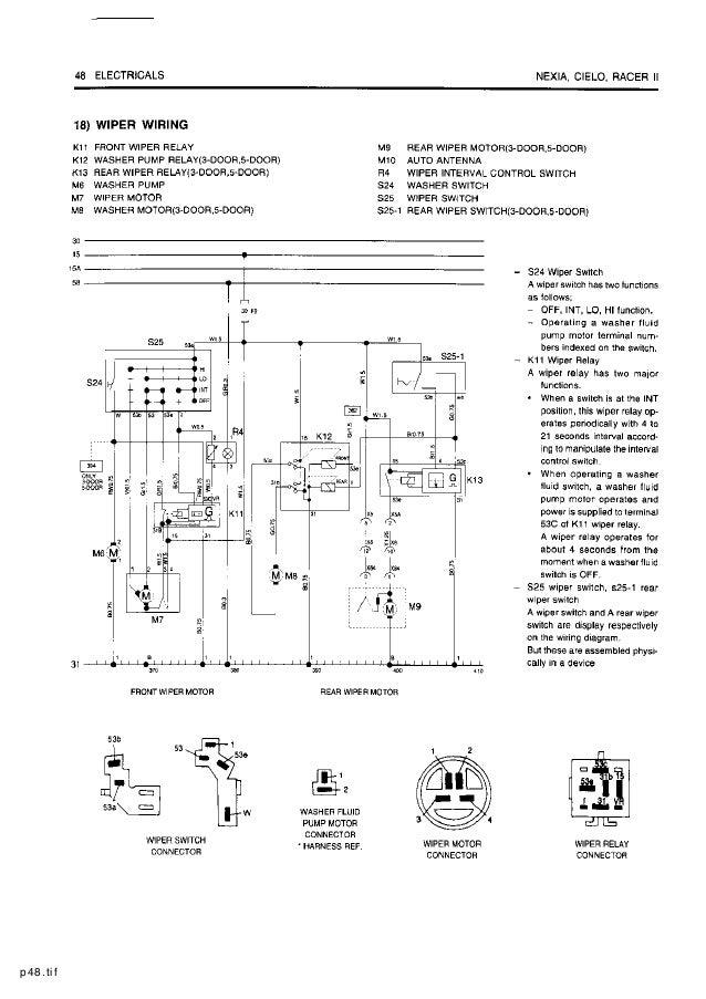 P48tif: Daewoo Nexia Cielo Racer Ii Electrical Wiring Diagram At Anocheocurrio.co