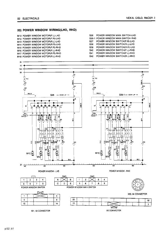 [QMVU_8575]  Daewoo+service+electrical+manual | Wiring Diagram For Daewoo Cielo |  | SlideShare