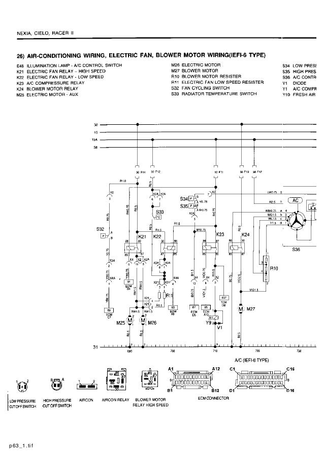 daewoo cielo wiring diagram   27 wiring diagram images