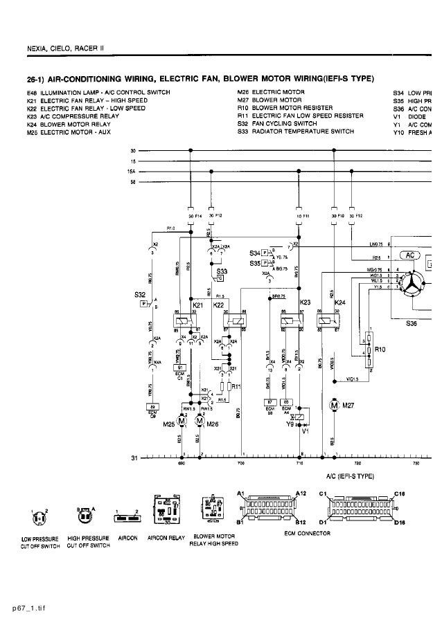 Daewoo Ac Wiring Diagram - Wiring Diagrams List on