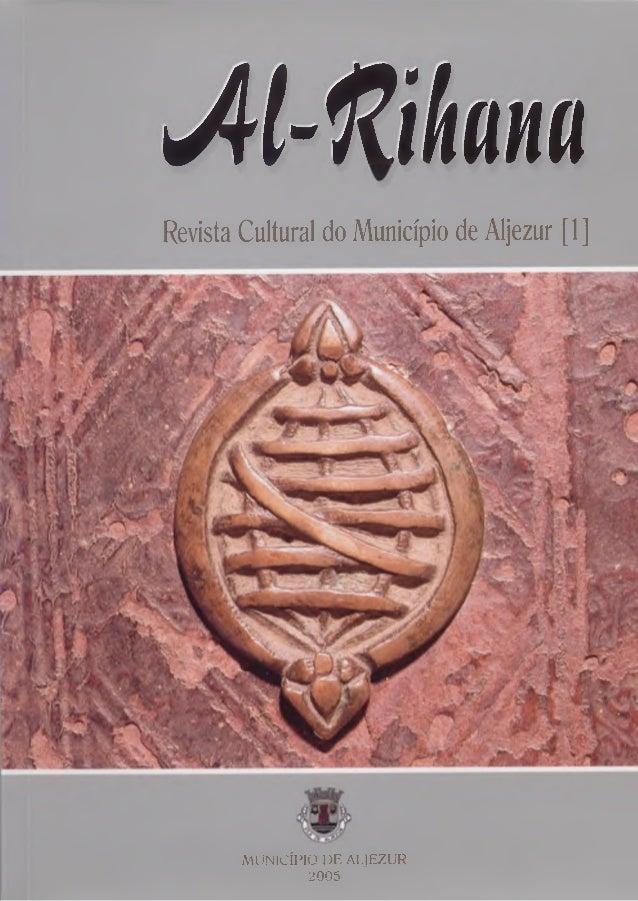 M-ftibnn Revista Cultural do Município de Aljezur [1] MUNICÍPIO DE ALJEZUR 2005