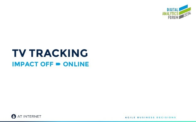 TV TRACKING IMPACT OFF  ONLINE