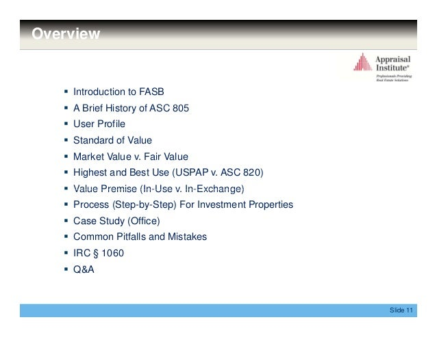 Accounting Standards For Investment Properties
