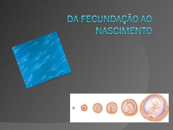 O que é a fecundação?A fecundação é o fenómeno da união dedois elementos originando um ovo.