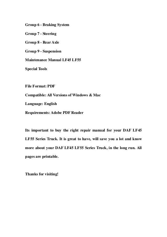daf lf45 lf55 series truck service repair workshop manual 2 638?cb=1357579080 daf lf45 lf55 series truck service repair workshop manual daf fuse box diagram at webbmarketing.co