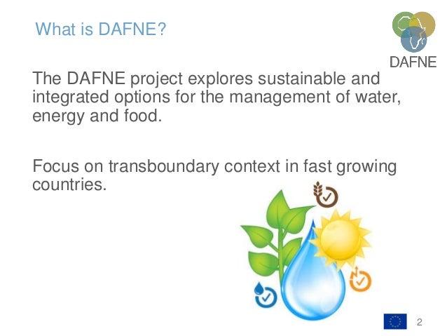 DAFNE Project Slide 2